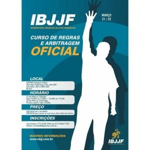 Curso de regras e arbitragem oficial da CBJJ em Salvador.…