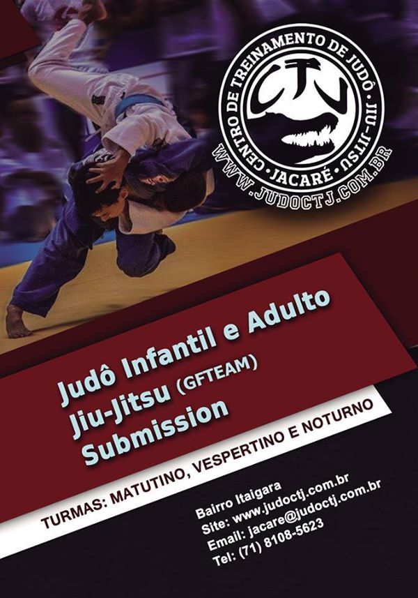 Post Thumbnail of Novos horários de treino - Judô Infantil, Adulto e Jiu-Jitsu