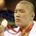 Tido como herói nacional no Japão, Satoshi Ishii conquistou a medalha de ouro em Pequim-2008