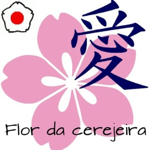 O smbolo da Kodokan NO  a flor da cerejeirahellip