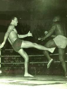 Carlson Gracie lutando contra Waldemar Santana