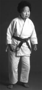 Keiko Fukuda, 96 anos. Seu pai foi professor do Sensei Jigoro Kano