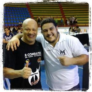 Grande amigo, grande mestre, muitos ensinamentos... lenda viva! @pauloborrachall #mma…