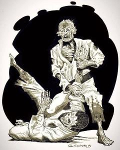 Judo Zombies!!!! halloween judo bjj jiujitsu judozombie bjjzombie