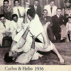 Carlos e Helio Gracie em 1936, na época em que…