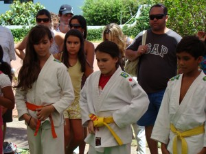 Atletas do Judô Infantil - CTJ