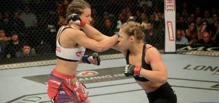 Post Thumbnail of Técnicas de Judô - UFC 168 - Ronda Rousey x Meisha Tate