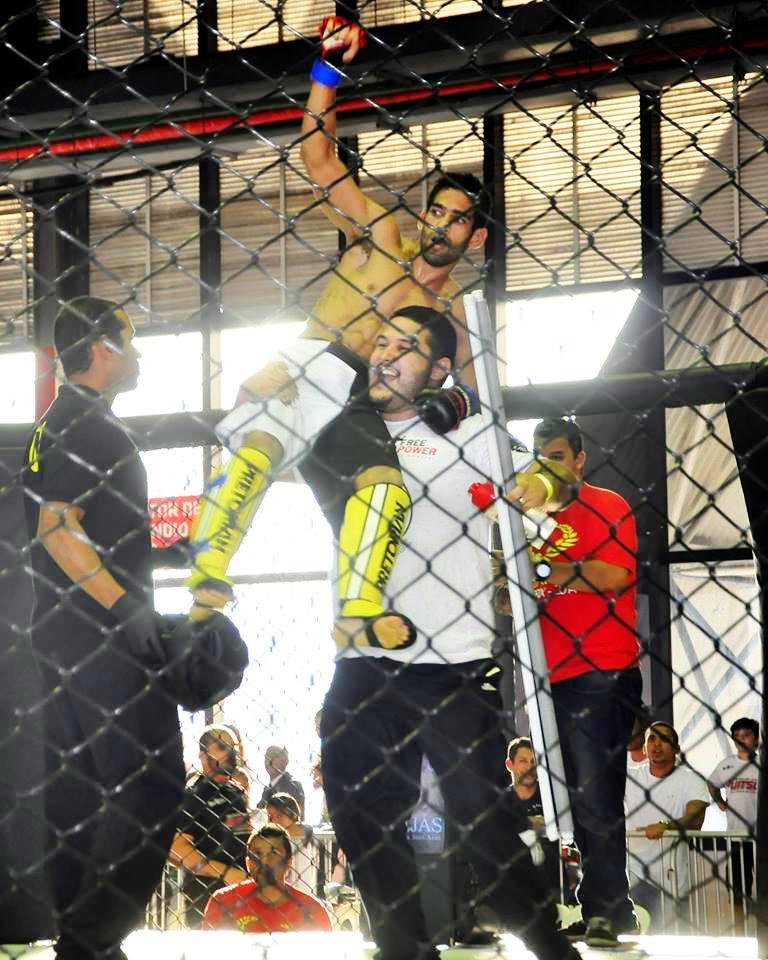 Post Thumbnail of Entrevista com Junior Ninja sobre sua estréia no MMA